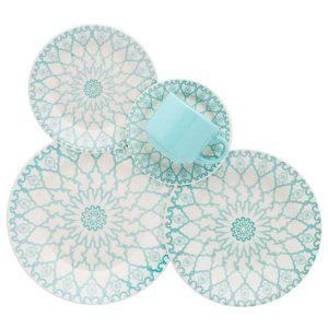 Juego de vajilla 30 piezas Mandala